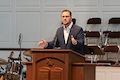 Dew urges humility during 1st NOBTS sermon as pres.
